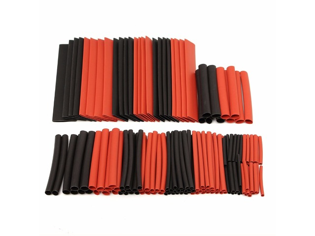 150 PCS Halogen-Free 2:1 Heat Shrink Tubing Wire Cable Sleeving Wrap Wire Set | FreeAds.info