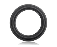 Black 6.5 Inch Speaker Surround Decorative Circle Repair Foam For Bass Woofer Horn