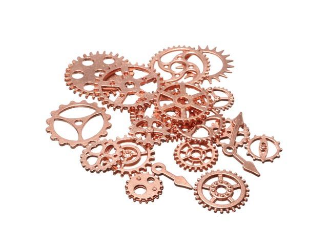 20pcs Vintage Steampunk Watch Clock Parts Gear Cogs Wheels Crafts Findings Lot | FreeAds.info