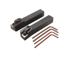 2pcs MCLN 16x100mm Lathe Index Turning Tool Holder For CNMG1204 Insert