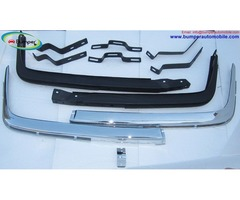 Mercedes W107 Chrome bumper Euro type in stainless steel