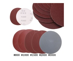 25pcs 5 Inch Abrasive Sanding Discs Sanding Paper 800/1000/1500/2000/3000 Grit Sand Paper