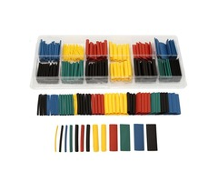 280pcs Assortment Ratio 2:1 Heat Shrink Tubing Tube Sleeving Wrap Kit with Box | FreeAds.info
