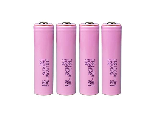 4PCS Samsung INR18650-30Q 3000mAh Unprotected Button Top 18650 Battery | FreeAds.info