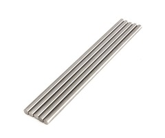 5pcs 8mm Titanium Ti Grade GR5 Titanium Alloy Rod Bar Length 250mm