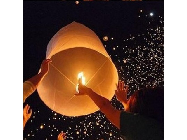 5X Love Heart Kong Ming Sky Lanterns Chinese Traditional Wishing Lamp Rose Red Color | FreeAds.info