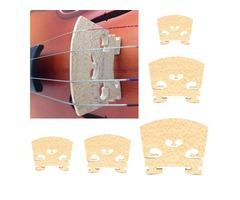 Violin Bridge Violin Tools Old Flamed Maple Size 1/8 1/4 1/2 3/4 4/4