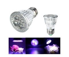 5W E27 LED Full Spectrum Coral Reef Plant Grow Light PAR30 Fish Tank Aquarium
