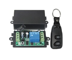 Geekcreit® DC 12V 10A Relay 1CH Channel Wireless RF Remote Control Switch Transmitter With Receiver