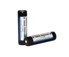 2pcs KeepPower P1835J 18650 3500mAh 3.7V Rechargeable Battery