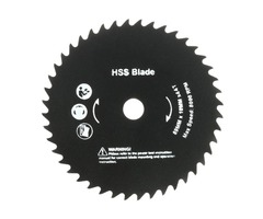 89mm 10mm Hole 44 Teeth HSS Circular Saw Blade Cutting Discs Wheel