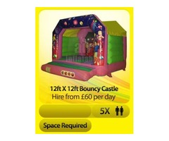 Adult Bouncy Castle Disco Farnborough, Surrey