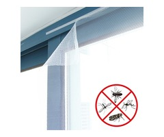 59x59 Inch Anti Mosquito Pest Curtain Net Mesh Window Door Screen Curtain Protector