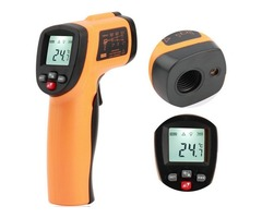 GM550E Digital IR Non Contact Laser LCD Infrared Thermometer Temperature Meter Gun -50~550℃/ -58~102