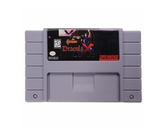 Castlevania Dracula X 16 Bit Game Cartridge Card for SFC SNES NTSC System