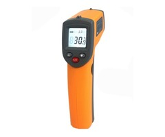 GS320 Laser Digital LCD IR Infrared Thermometer Auto Temperature Meter Gun Non Contact Sensor -50°C~ | FreeAds.info