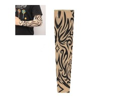 1pc Tattoo Sleeves Arm Stocking Nylon Spandex Stretchy Temporary | FreeAds.info