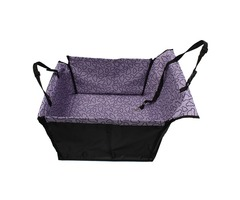 Pet Dog Cat Car Rear Back Seat Cover Mat Protector Hammock Car Seat Cushion Waterproof