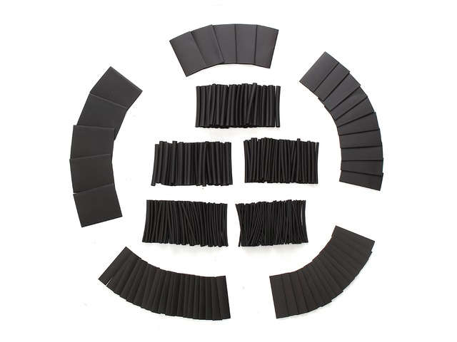 415Pcs 1 Sizes Assortment 2:1 Heat Shrink Tubing Sleeving Wrap Wire Kit φ1-φ31mm | FreeAds.info