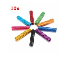 Suleve™ M3AS4 10Pcs M3 20mm Knurled Standoff Aluminum Alloy Anodized Spacer