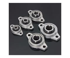 Machifit 8/10/12/15/17mm Bore Diameter Zinc Alloy Pillow Block Flange Linear Bearing KFL Series CNC