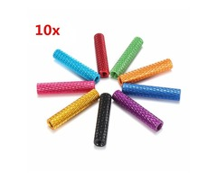 Suleve™ M3AS5 10Pcs M3 25mm Knurled Standoff Aluminum Alloy Anodized Spacer
