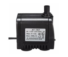 AC 110V-120V 400L/H Small Submersible Water Pump Fountain Pond Fish Aquarium