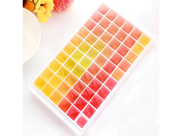 60 Holes Ice Tray Ice Cube Mold Jelly Ice Cub Box Mould Multifunction Refrigerator Accessories | FreeAds.info