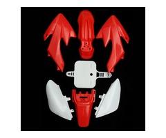 Motorcycle Fenders Plastic Set For Honda CRF50 XR50 SDG SSR Pro 50cc 110c 125cc