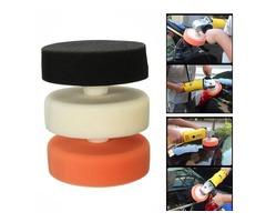 M16 150mm Car Buffing Polishing Sponge Head Pad Mop Thread Compounding