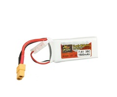 ZOP Power 7.4V 1500mAh 2S 35C LIpo Battery XT60 Plug