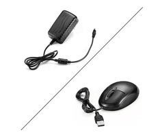Digoo DG-HLT AC 100-240V 12V 2A Converter Adapter Or Mouse 24W Power Supply For Digoo DG-XME NVR IP