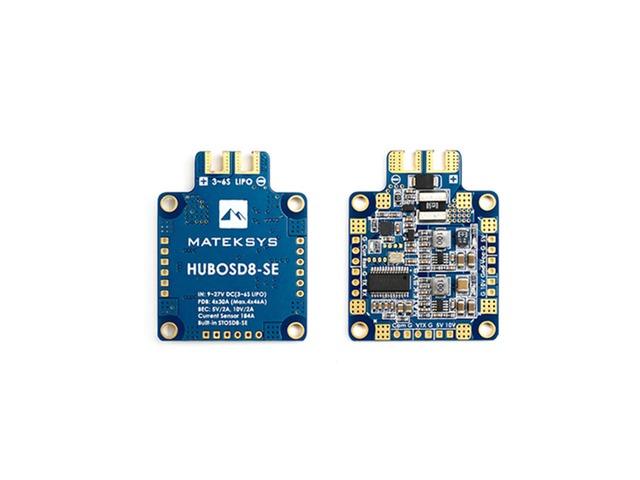 Matek Systems HUBOSD8-SE 9-27V PDB W/ STOSD8-SE 5V&10V Dual BEC for RC Drone | FreeAds.info