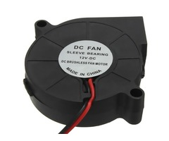 10Pcs 3D Printer 12V DC 50mm*50mm Blow Radial Cooling Fan