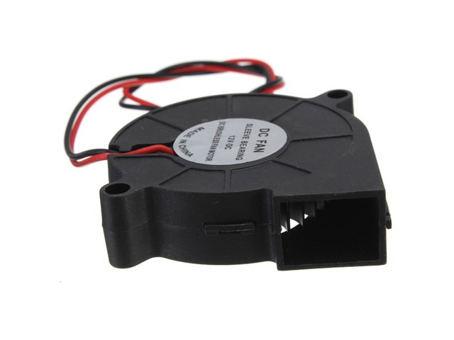 5Pcs 3D Printer 12V DC 50mm*50mm Blow Radial Cooling Fan | FreeAds.info