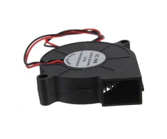 5Pcs 3D Printer 12V DC 50mm*50mm Blow Radial Cooling Fan