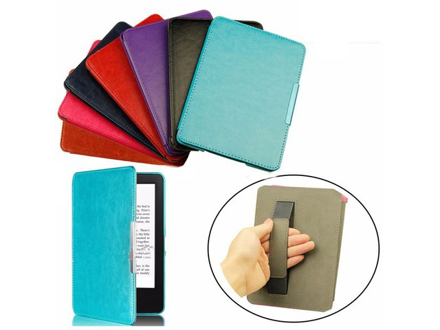 Slim Magnetic Smart PU Case Cover For Kindle Paperwhite 1 2 3 eBook Reader | FreeAds.info